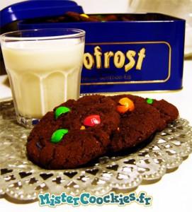 Cookies chocolat aux M&M's