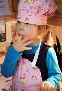 Les enfants en cuisine